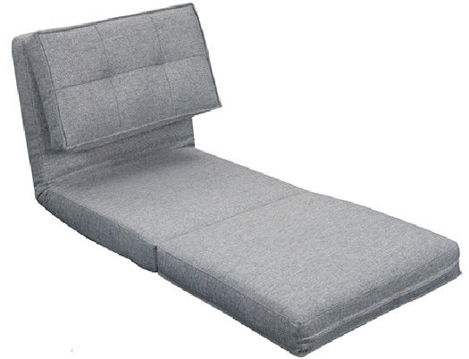 Convertible Single Bed Sofa Bed / Lightweight Sofa Bed For Living Room