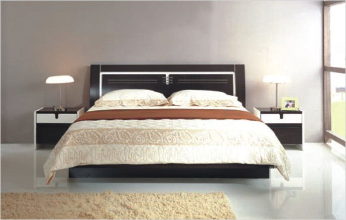 Classic Fashion Room Store Queen Bedroom Sets Comfortable Feeling For Urban Crowd