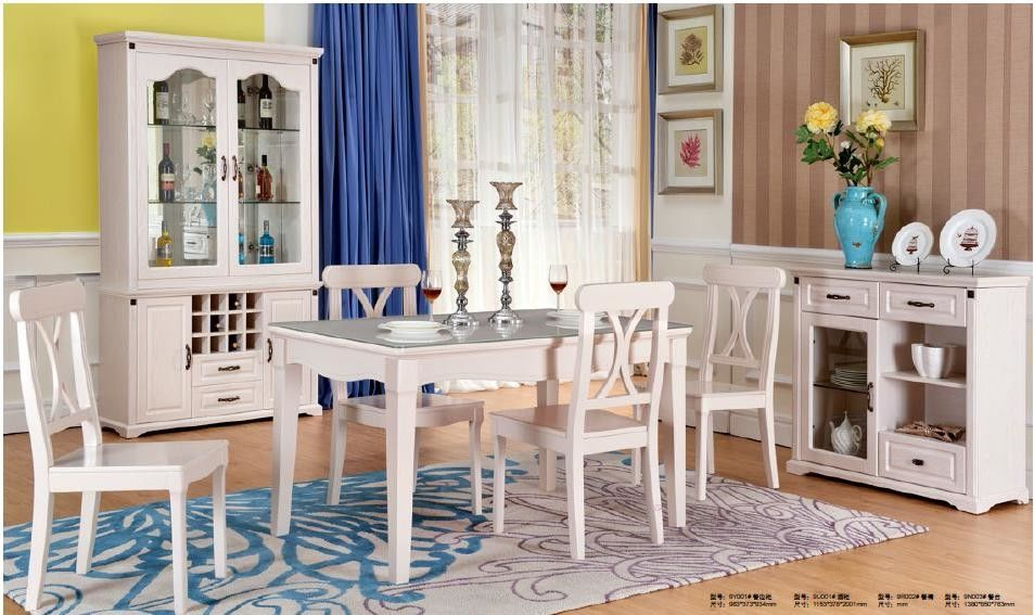 Luxury Beautiful Modern Contemporary Dining Sets Excellent Moisture - Proof