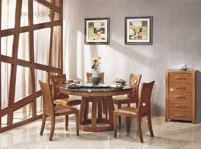 Veneer Finishing Modern Wood Dining Room Table Contemporary Kitchen Tables